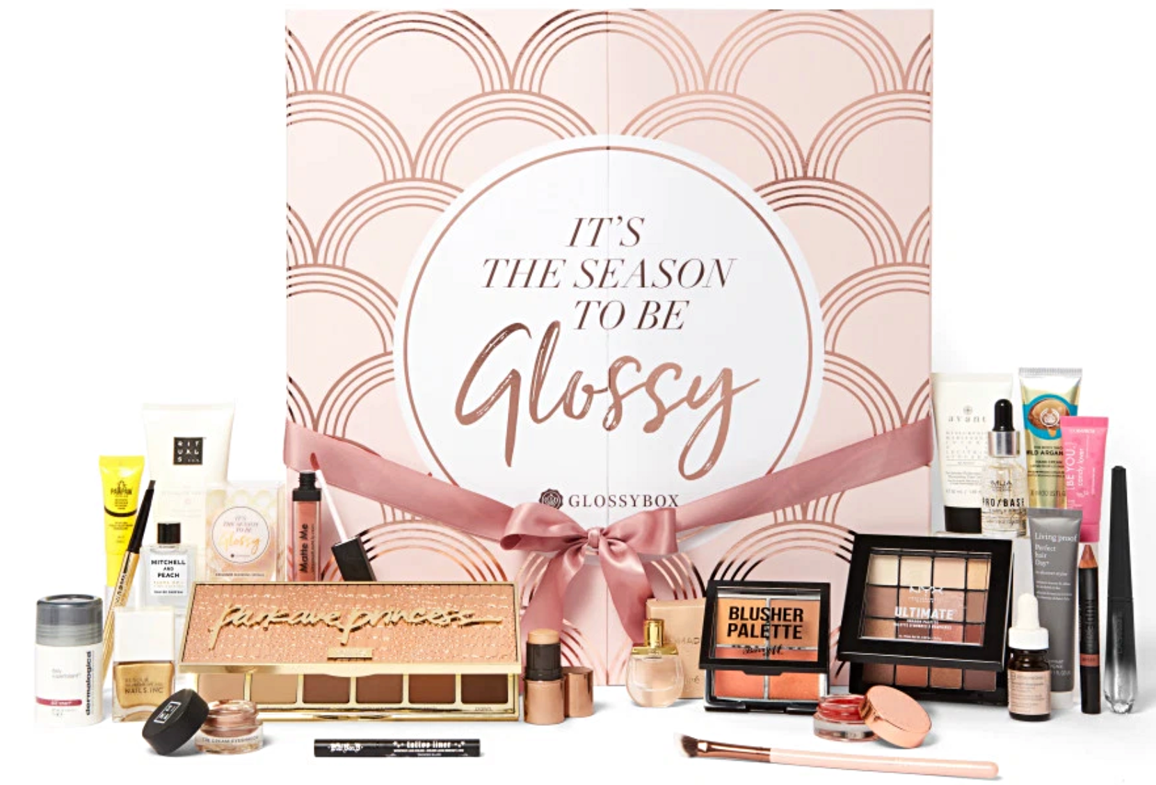 Glossybox advent calendar contents