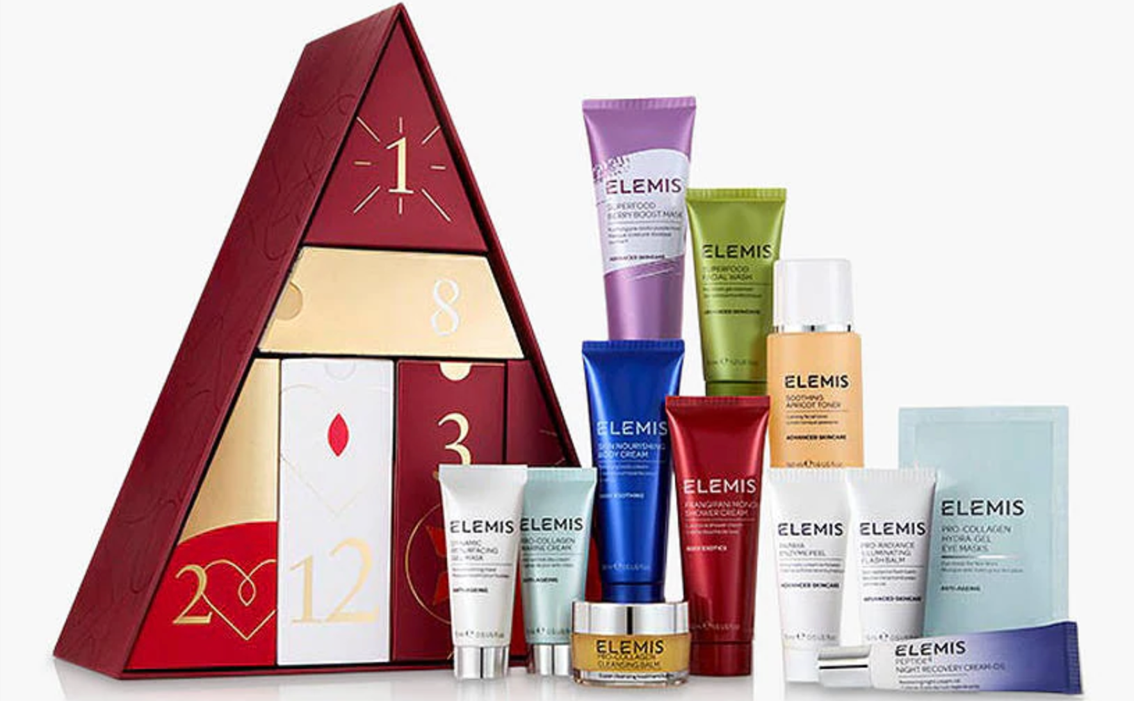ELEMIS 12 days advent calendar 2019