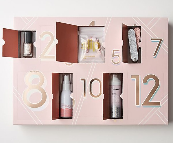Anthropologie 12 Day Party Countdown Beauty Calendar 2019