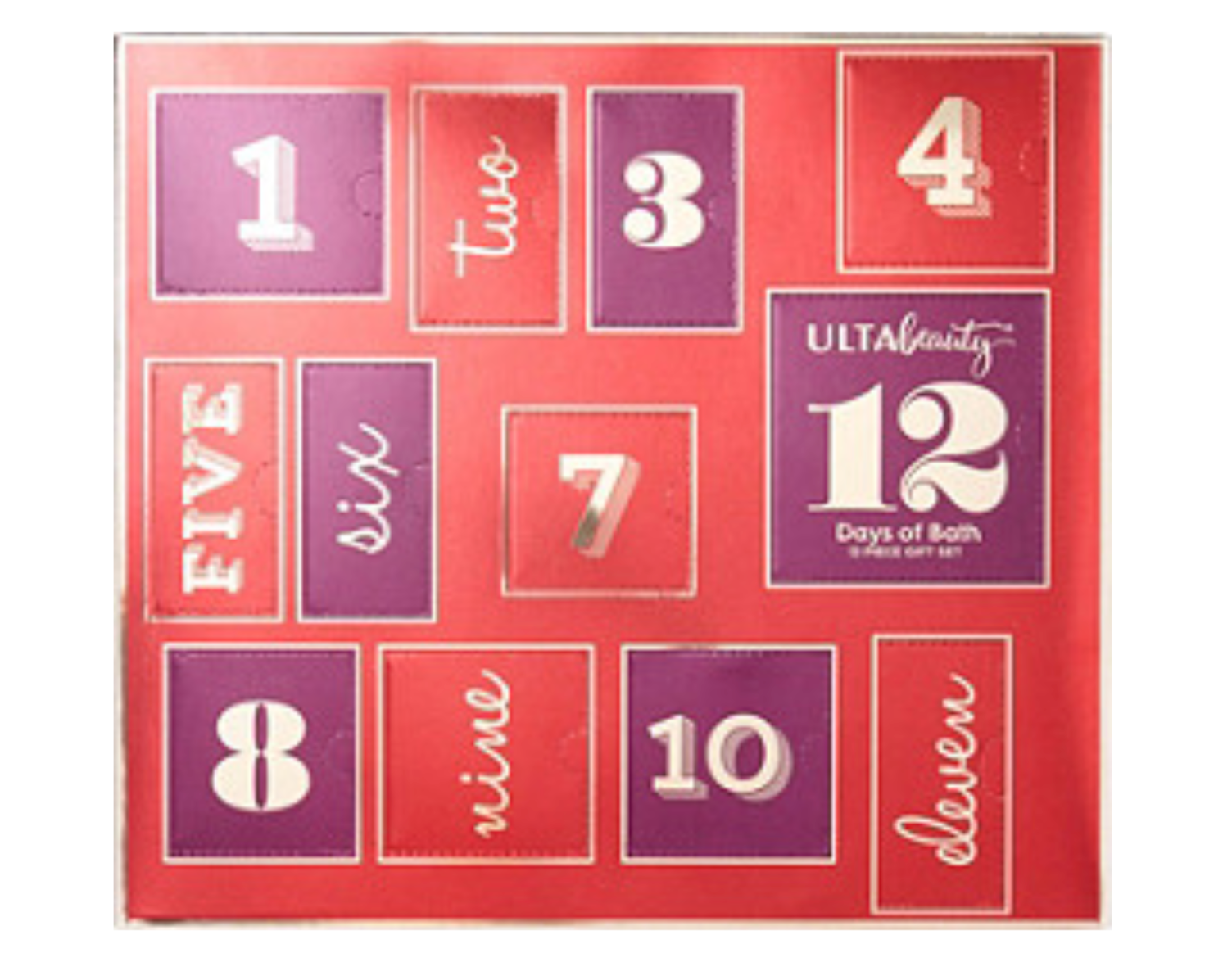 Ulta Bath and Beauty Advent Calendar 2019