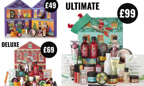 The Body Shop advent calendars 2019