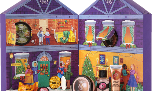The Body Shop advent calendar 2019