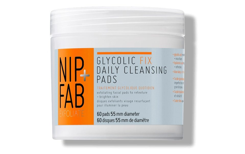 Nip and fab glycolic pads