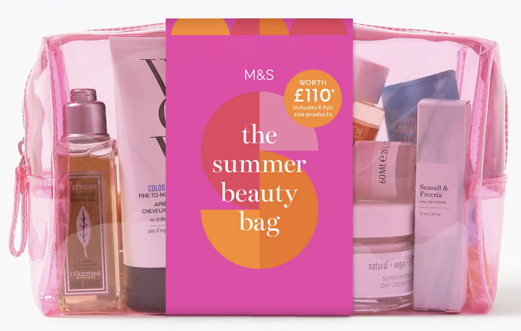 M&S Summer Beauty Bag 2020 Contents