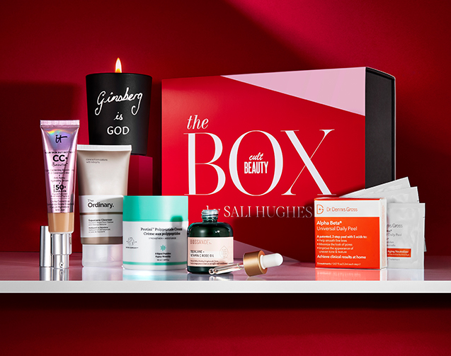 Sali Hughes X Cult Beauty Box Dr Dennis Gross It Cosmetics