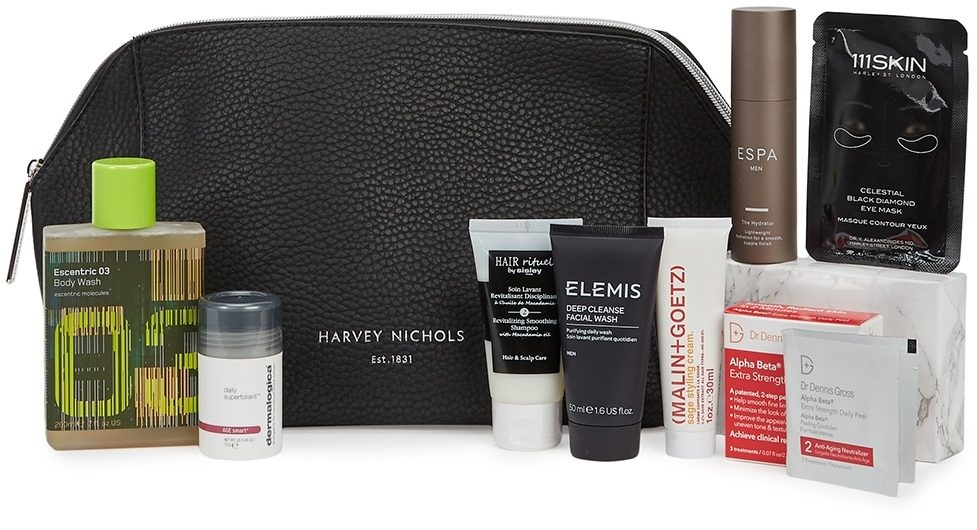 Harvey Nichols Grooming Bag June 2002 Fathers Day