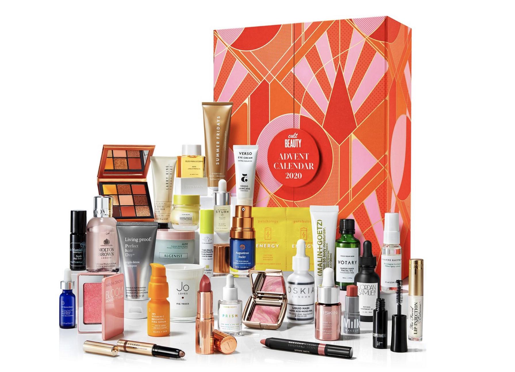 Cult Beauty Advent Calendar 2020 Contents
