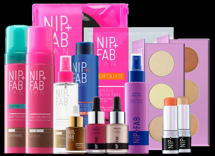 Nip & Fab Premium Gold Haul 2020