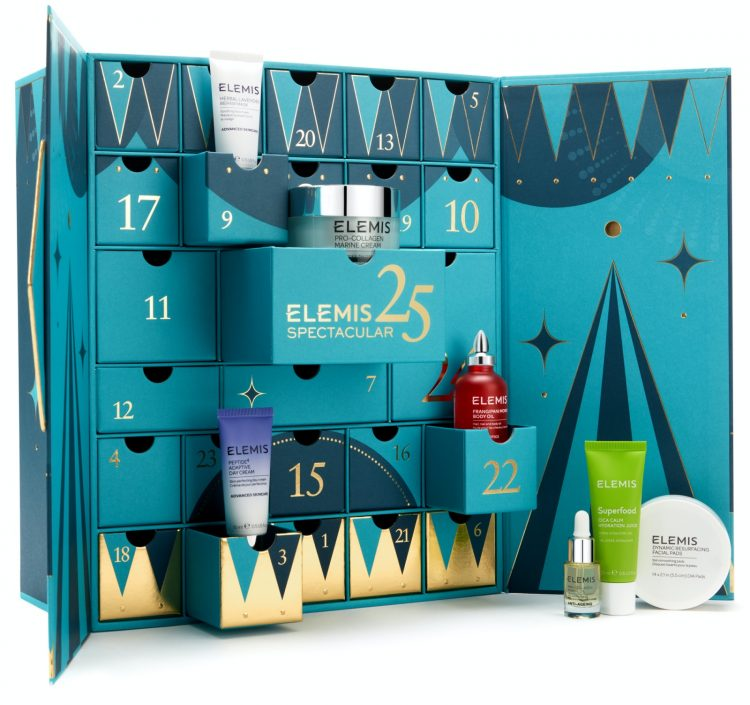 ELEMIS beauty advent calendar 2020