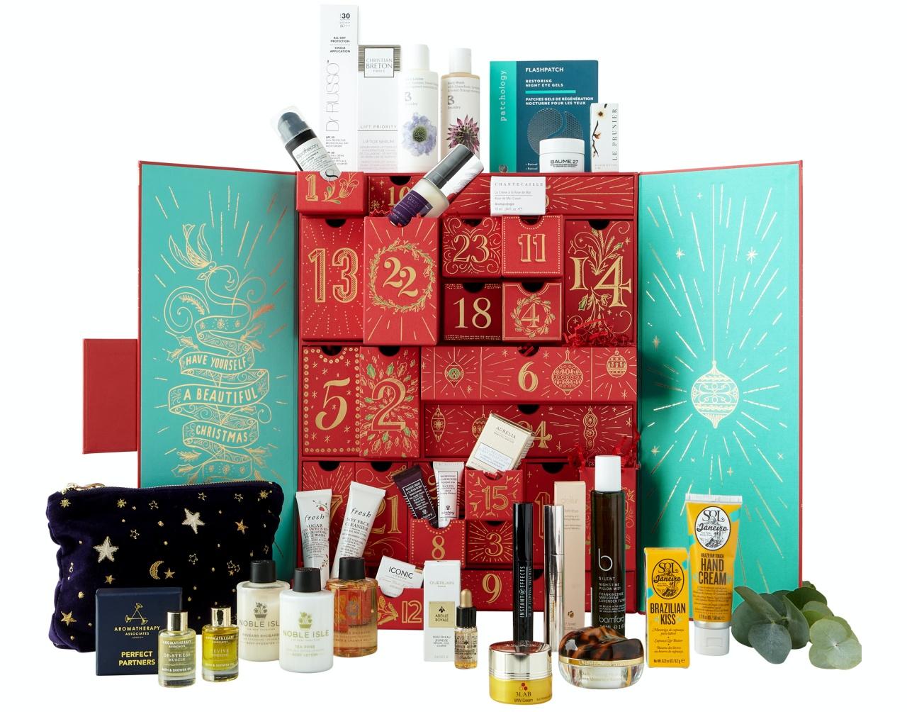 Fortnums beauty advent calendar 2020