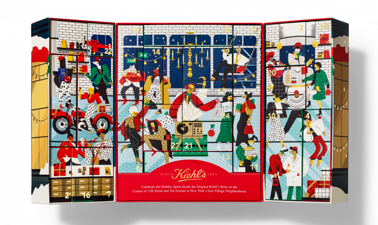 Kiehl's Advent Calendar 2020 Inside