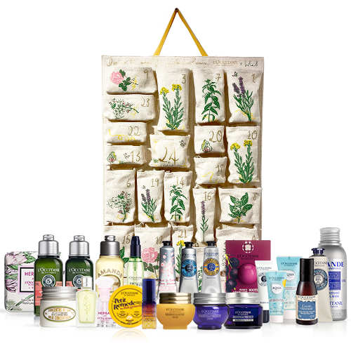 L'Occitane reusable advent calendar 2020
