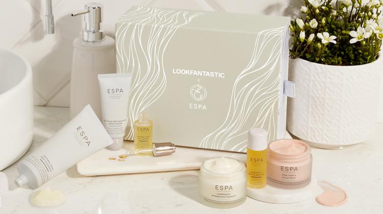 LookFantastic x ESPA beauty box limited edition