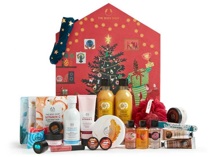 The Body Shop big advent calendar 2020