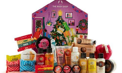 The Body Shop small advent calendar 2020