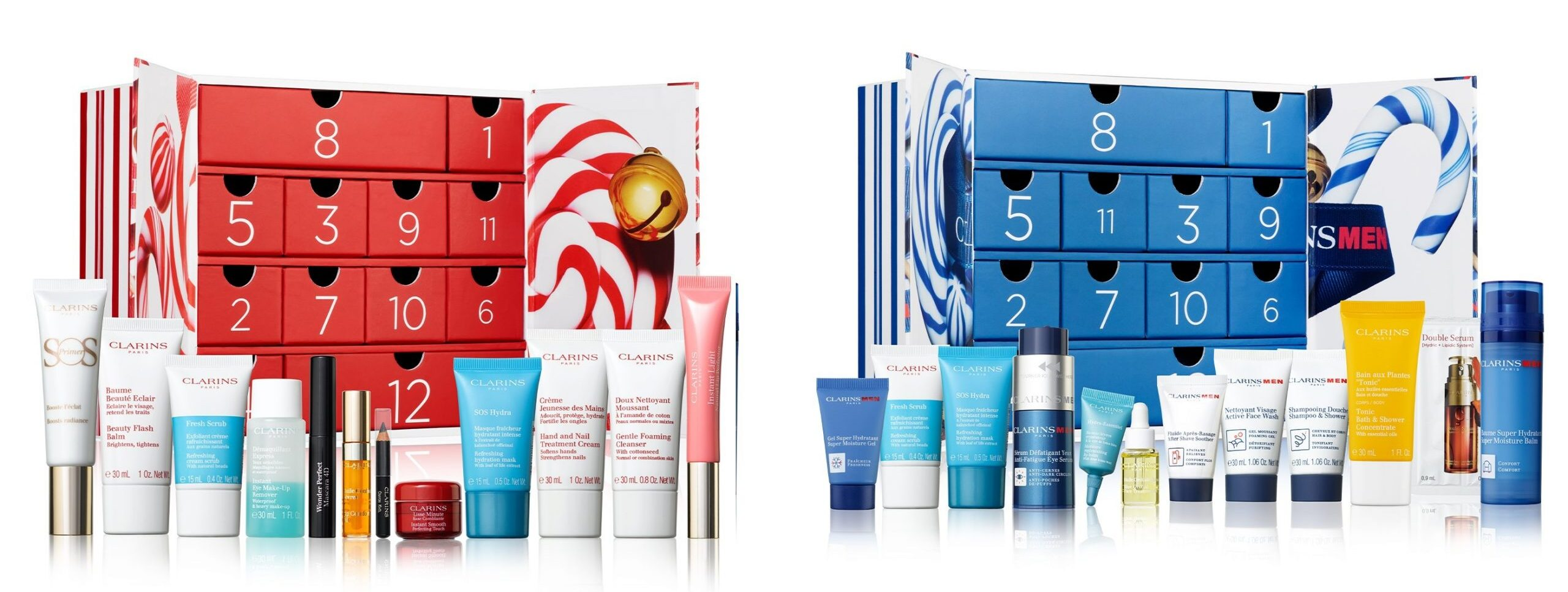 Clarins 12 Day Christmas 2020 Men and Women