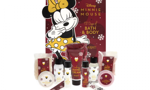 Minnie Mouse Advent Calendar Superdrug 2020