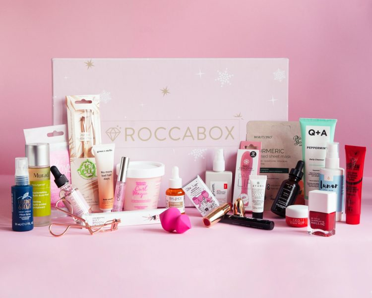 Roccabox Beauty Advent Calendar 2020 Contents