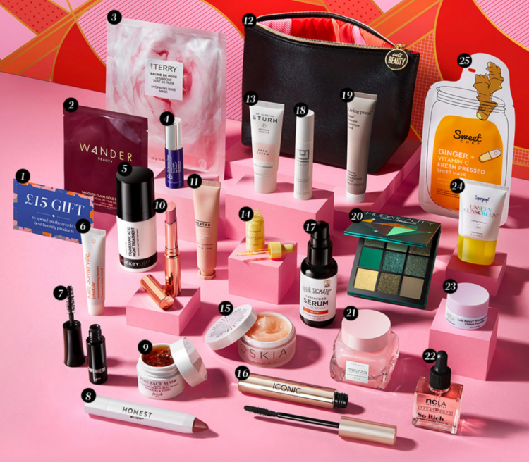 Cult Beauty Best of 2020 Goody Bag