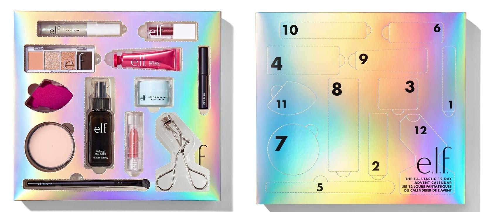 Elf Beauty Advent Calendar 2020 Contents