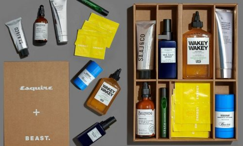 Esquire x Beast Grooming Box 2020