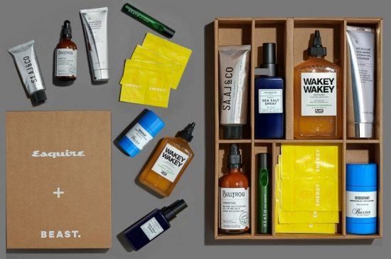 Esquire + BEAST. Grooming Box 2020