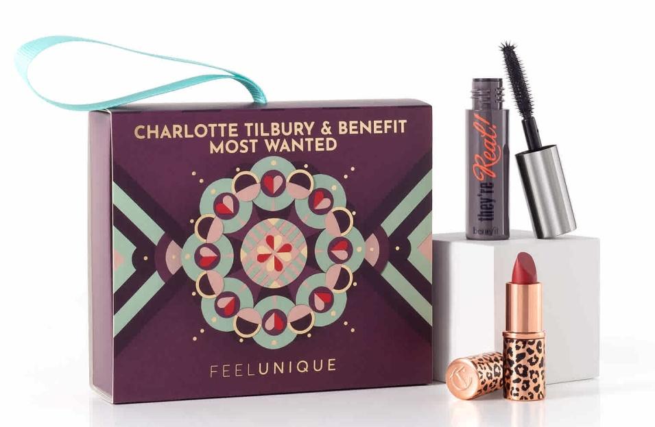Feel Unique Charlotte Tilbury & Benefit Gift Box 2020