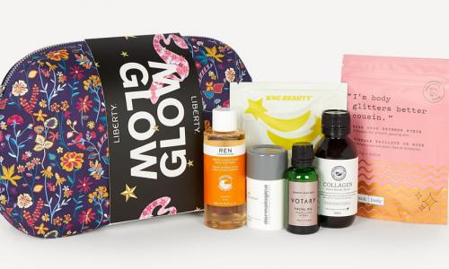 Liberty glow kit beauty gift