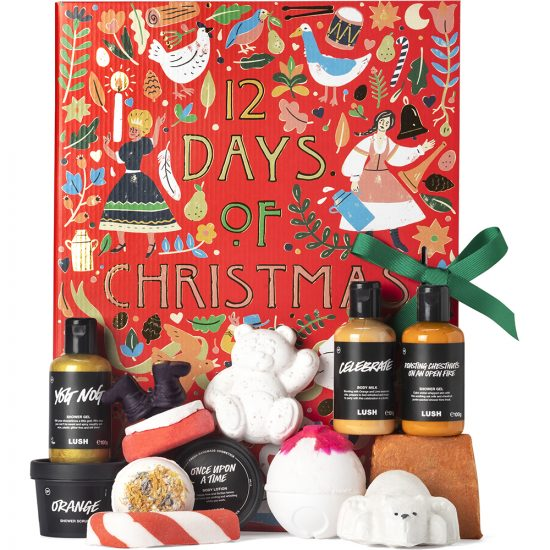 Lush 12 Days of Christmas 2020