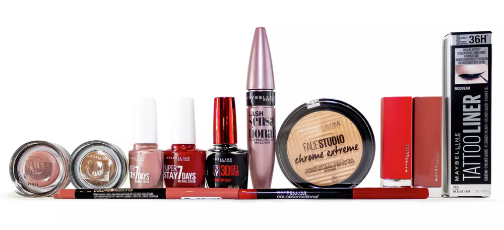 Maybelline 12 Days Contents 2020