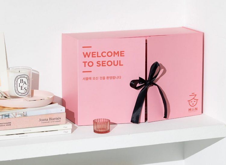 Minn Cosmetics Korean beauty advent calendar 2020