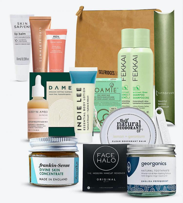 Selfridges Eco Beauty Bag 2020