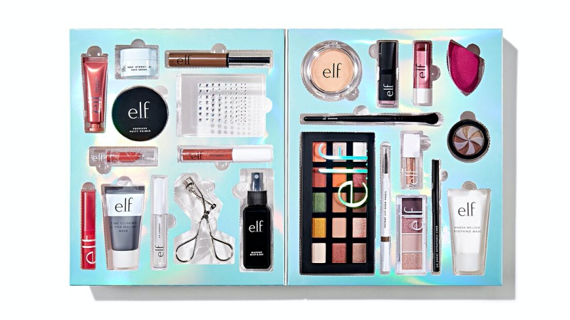 elf cosmetics 24 day advent calendar 2020