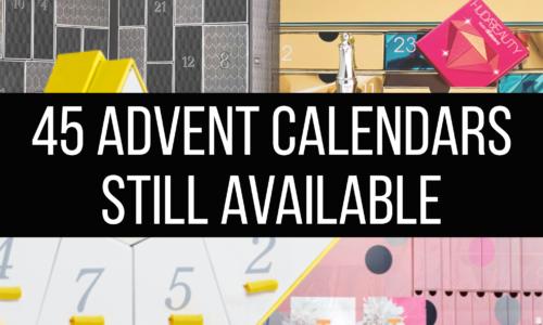 Beauty advent calendars still available 2020
