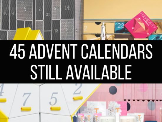 45 Beauty Advent Calendars Still Available