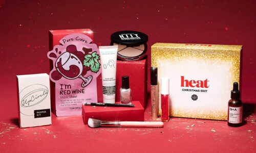 Glossybox x Heat Magazine Christmas Edition 2020
