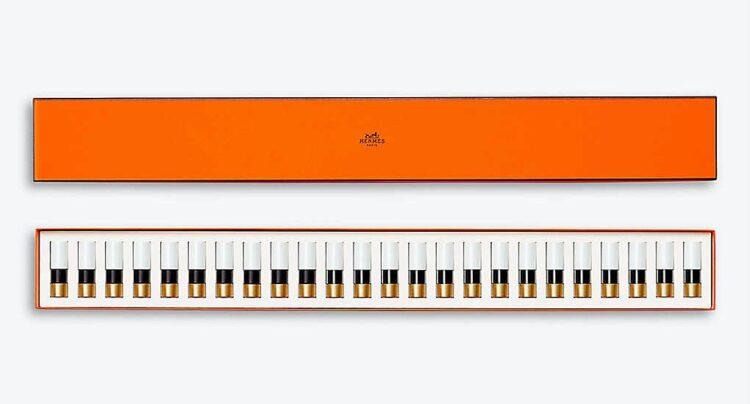 HERMES Rouge Hermes 24 Lip Piano Set