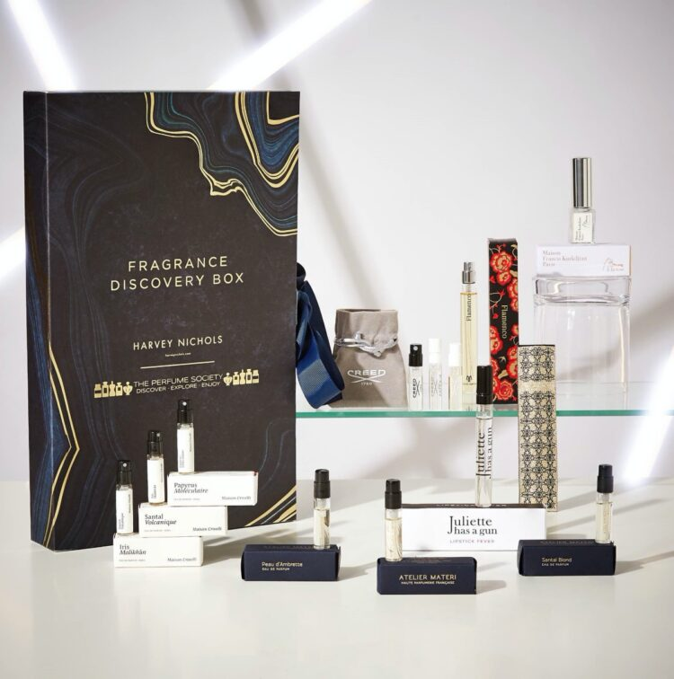 Harvey Nichols and The Perfume Society Fragrance Discovery Box
