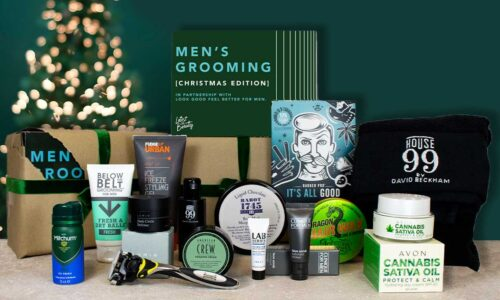 Latest in Beauty Mens Grooming Box 2020