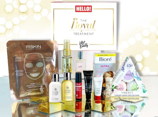 Latest In Beauty x Hello! Magazine The Royal Treatment Box – Available Now!