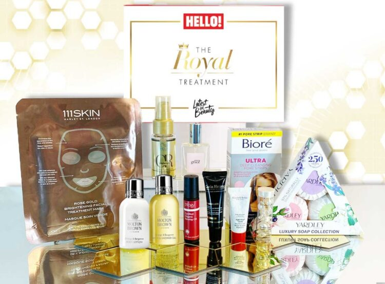 Latest In Beauty Royal Treatment Box