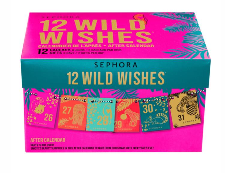 Sephora 12 Day Wild Wishes Calendar 2020