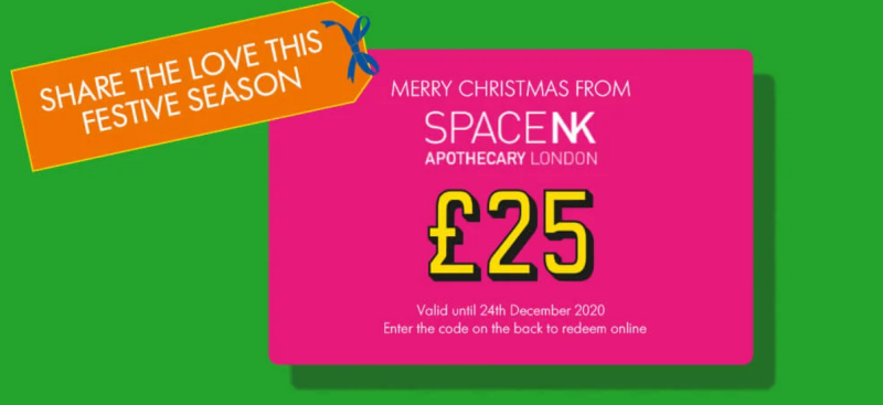 Space NK £25 Off