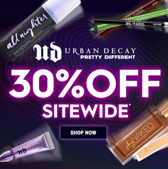 Urban Decay Black Friday Sale Starts Early!