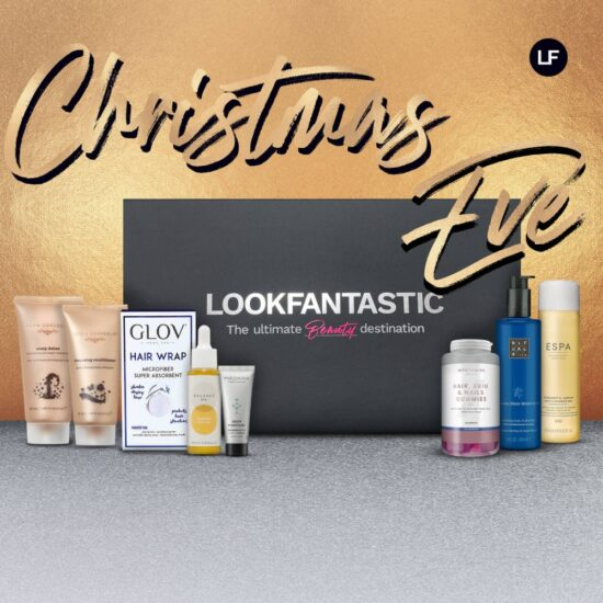 LOOKFANTASTIC Christmas Eve Pamper Box – Worth Over £120!