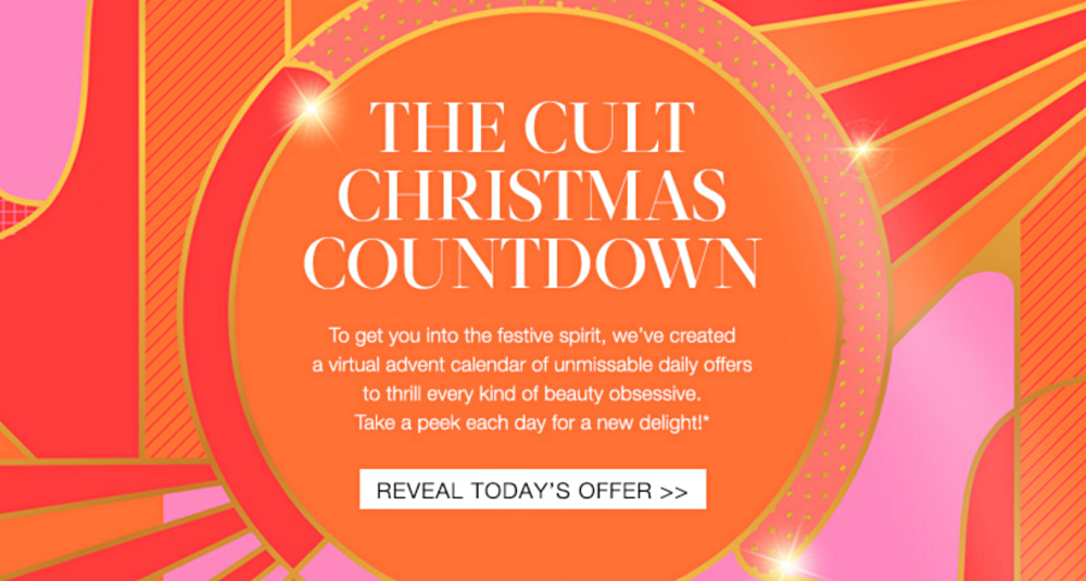 Cult Beauty Christmas Countdown