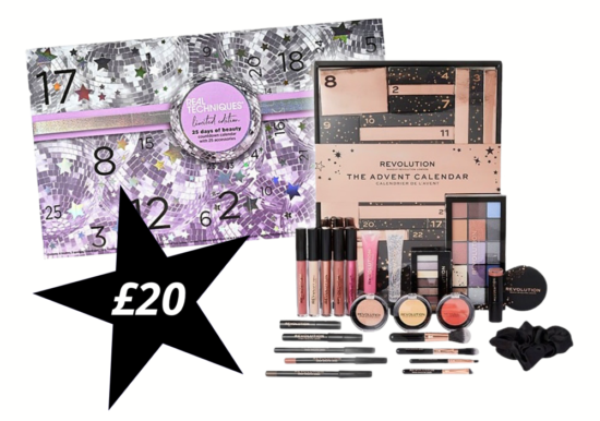 Real Techniques & Revolution Advent Calendars –  Now Just £20!