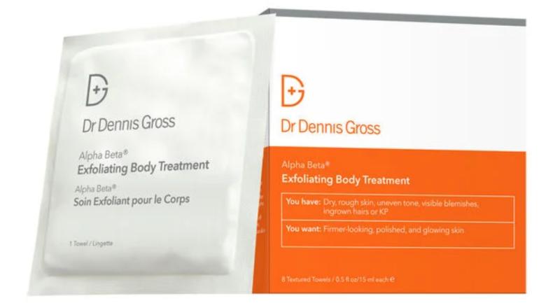 Dr Dennis Gross Body Exfoliating Pads