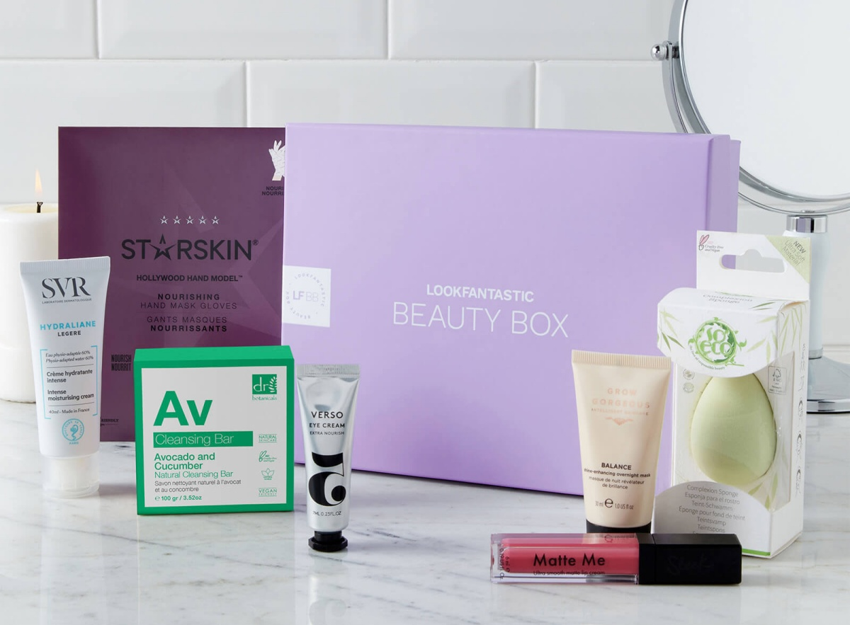 LOOKFANTASTIC January Beauty Box 2021
