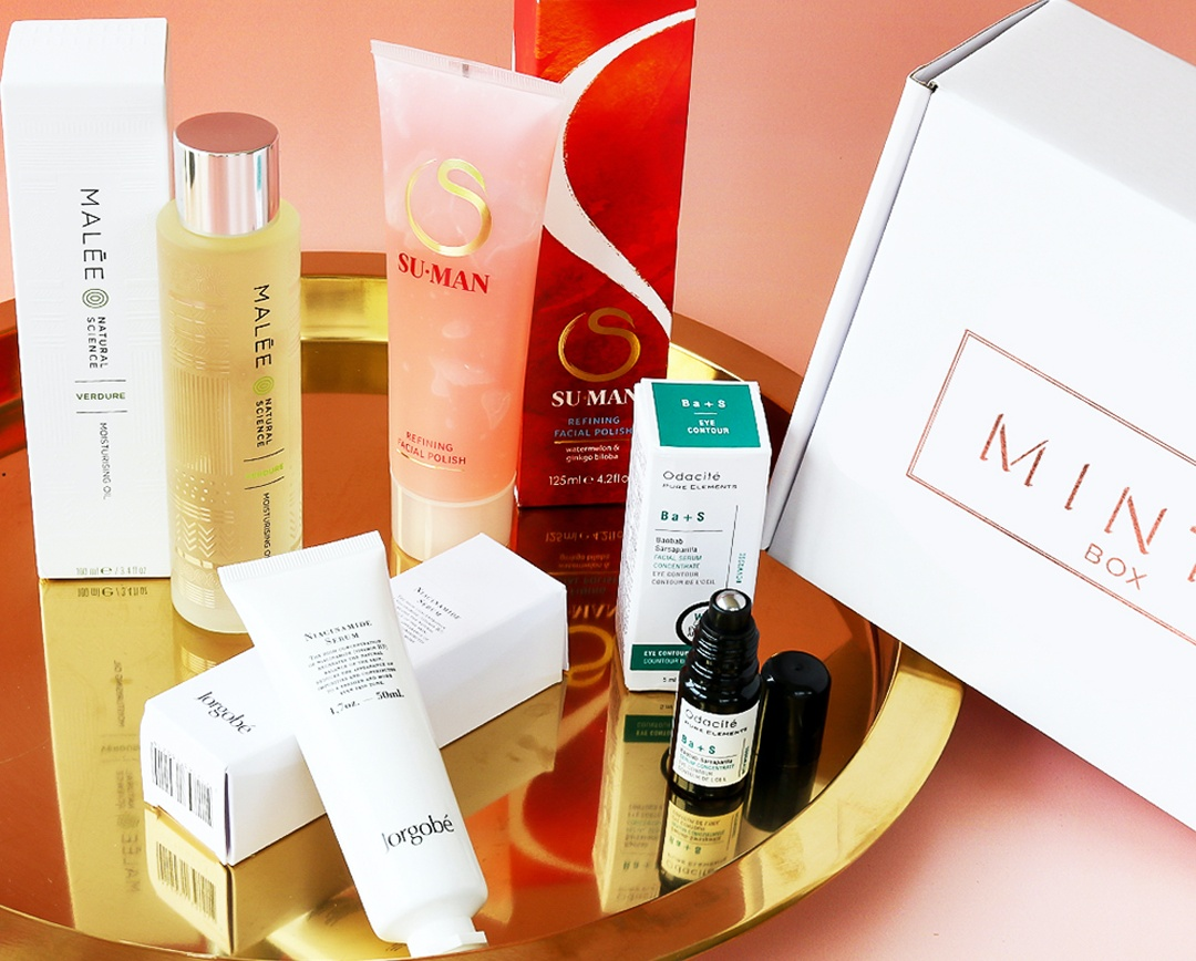 Mintd Box Best Beauty Sub Boxes 2021